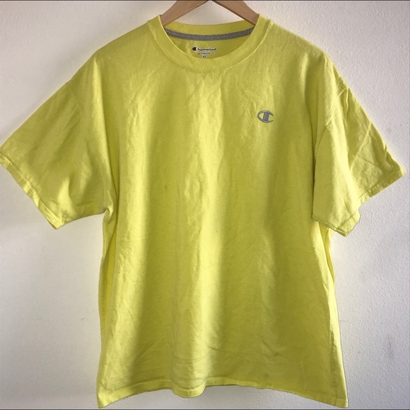 8031cf27 Champion Shirts | Lime Green Tee Shirt Mens Xlarge | Poshmark